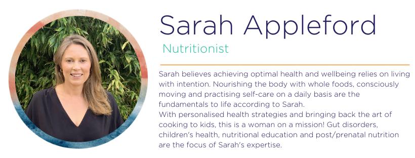 Sarah Appleford Nutrition